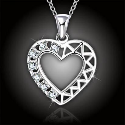 Nádherné srdce Crystal Heart