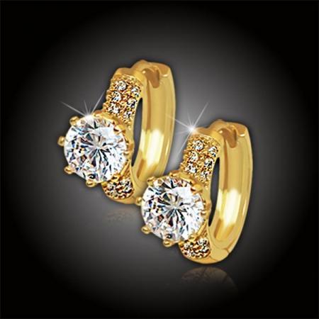 Náušnice La Diamantina Tatiana Gold