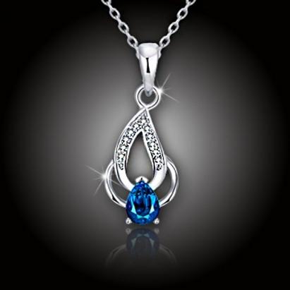 Náhrdelník Blue Flame