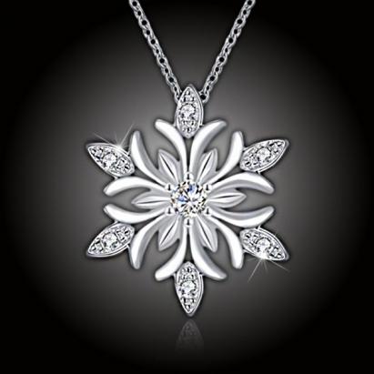 Náhrdelník Crystal Snowflake