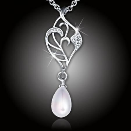 Perlový náhrdelník Elfie White Pearl