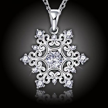 Náhrdelník Romantic Snowflake