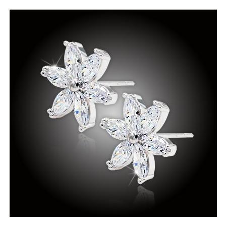 Náušnice La Diamantina Daisy
